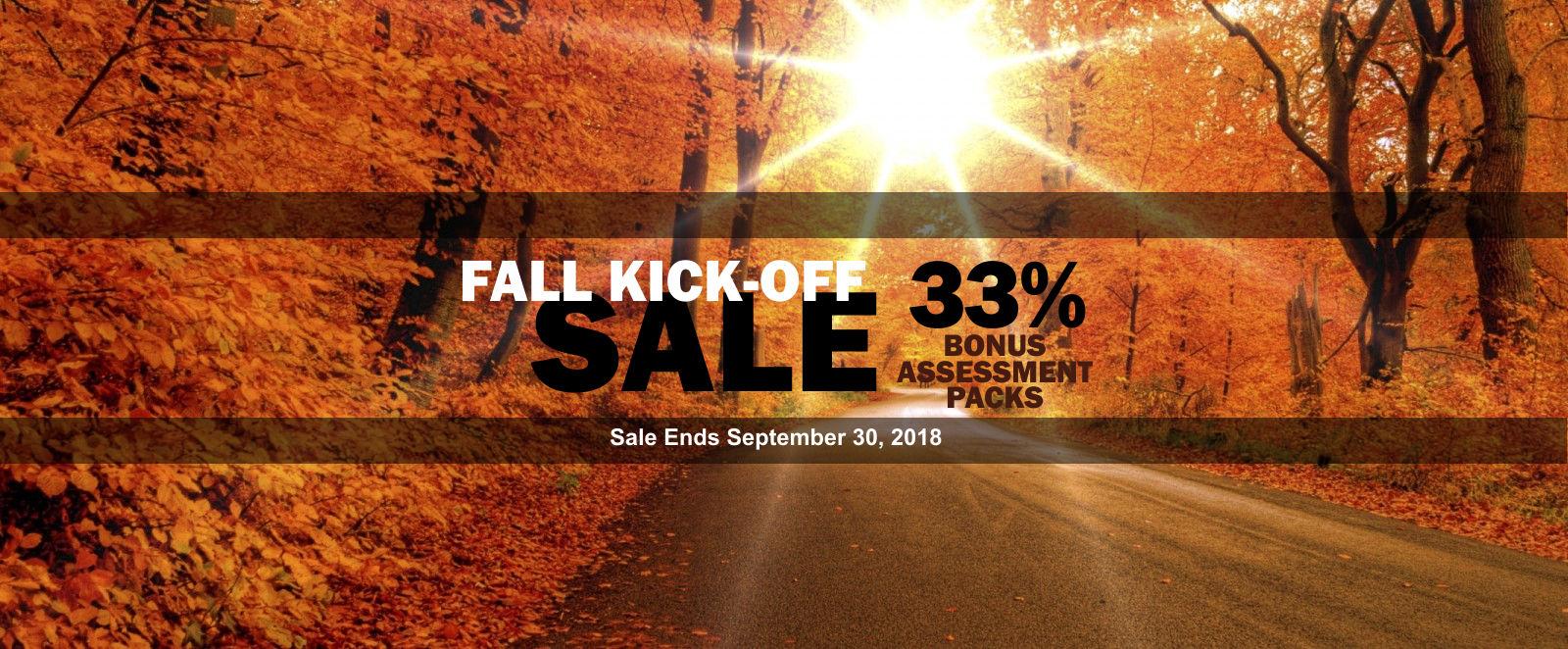 AssessME.org Fall Sale