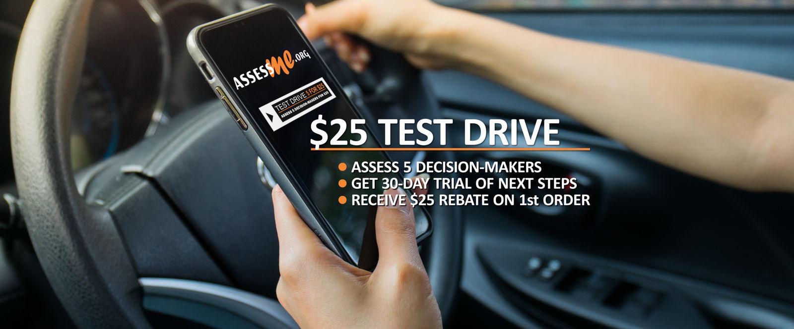 AssessME.org Test Drive Program