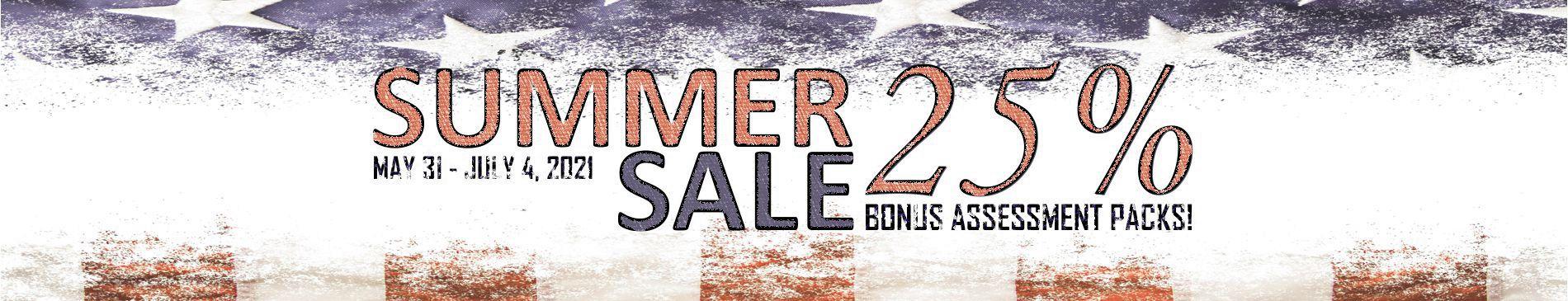 AssessME.org Summer Sale
